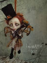 Meep Chimney Sweep Fairy Hanging Art Doll OOAK Lulus By LuLusApple