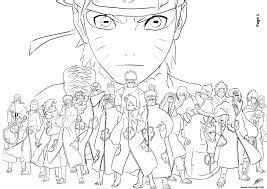 Coloriage Manga Naruto 196 JeColoriecom