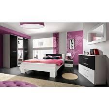 miroir pour chambre adulte ensemble complet 6 pièces pour chambre adulte avec lit 180x200 cm