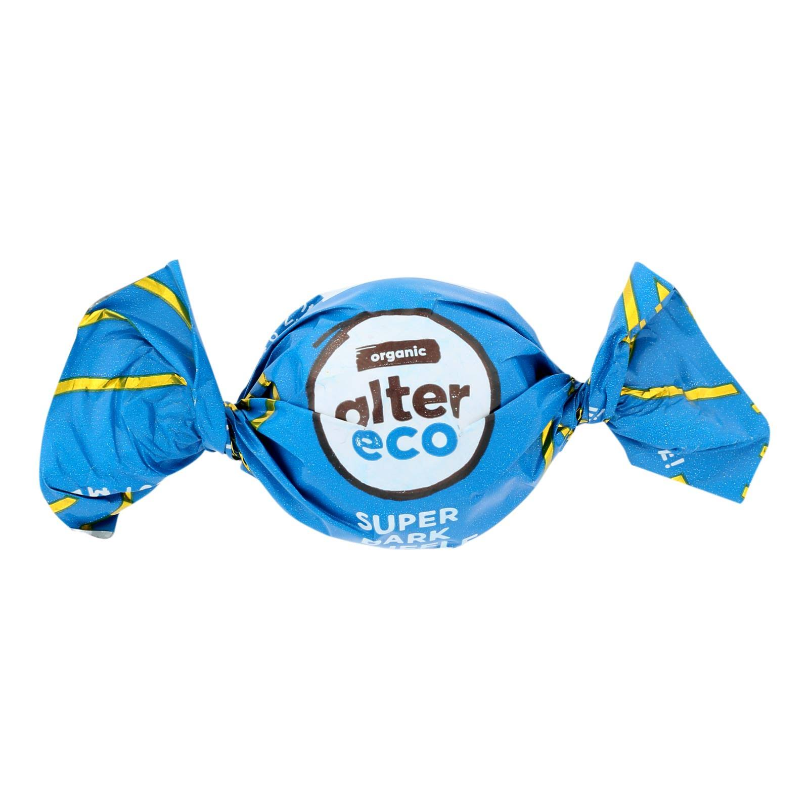Alter Eco - Truffle SPR Dark Chocolate - Case of 60 - 0.42 oz