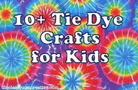 Summer Crafts Tie Dye