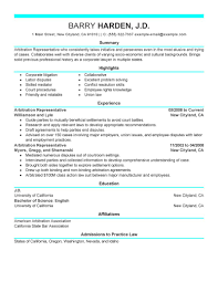 Front Desk Agent Resume Template by Best Arbitration Representative Resume Example Livecareer