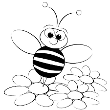 Picture Bumble Bee Coloring Page 52 In Line Drawings With