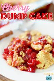 cuisine cherry cherry dump cake the country cook