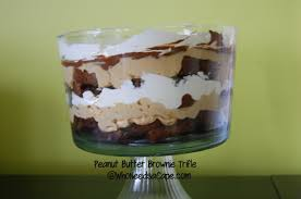 Pumpkin Mousse Brownie Trifle by Peanut Butter Brownie Trifle Who Needs A Cape