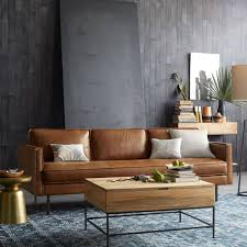 75 Dark Brown Leather Sectional Decorating Ideas Decor