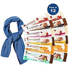 Power Crunch Protein Energy Bar Variety Flavors Pack Gift Care Box 14 Ounce