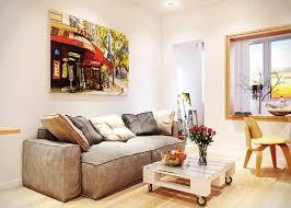 Small Narrow Apartment Living Room