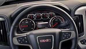 2014 GMC Sierra SLT Interior Instrument Panel Close Up « Road Reality 2014 Gmc Sierra Front View Comparison Road Reality Review 1500 4wd Crew Cab Slt Ebay Motors Blog Denali Top Speed Used 1435 At Landers Ford Pressroom United States 2500hd V6 Delivers 24 Mpg Highway Heatcooled Leather Touchscreen Chevrolet Silverado And 62l V8 Rated For 420 Hp Longterm Arrival Motor Lifted All Terrain 4x4 Truck Sale First Test Trend Pictures Information Specs