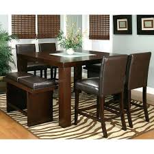 Counter High Dining Room Sets Set Mesmerizing Table Color About Height