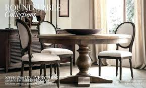 Restoration Hardware Dining Room Table Tables Transitional With C