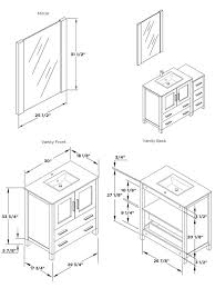 Ada Bathroom Counter Depth by Bathroom Bathroom Vanity Dimensions Standard On Bathroom Within