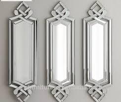 hohe qualität designer set 3 esszimmer abgeschrägte wand spiegel für dekorative buy set 3 wand spiegel dekor abgeschrägte wand