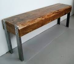 Reclaimed Barn Beam And Steel Bench By Barnboardstore.com | For ... 25 Unique Barn Wood Crafts Ideas On Pinterest Best Board Decor Projects Rustic Hall Trees Farmhouse Wood Mirror Matthew Colleens Blog Old Fence Boards Made Into A Head I Love It So Going To 346 Best Sheet Metal Images Balcony 402 Unique Framing Ideas Picture Frame Trim My House Stardust Designs Wall How To Create Weathered Barnwood Look With This Inexpensive Old Barn