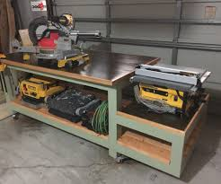 Garage Benches And Storage Unique All In One Work Bench Tool Woodworking
