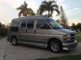 Chevrolet Express HIGH TOP CONVERSION VAN FLORIDA UNIT