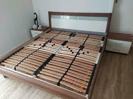 schlafzimmer bett inkl schrank und kommode