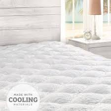 Cooling Bed Topper by Extra Plush Mattress Pads Made In The Usa Eluxury