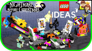 Nightmare Before Christmas Bedroom Set by Nightmare Before Christmas Lego Ideas Project By Toarickbrick