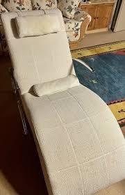 relaxliege sessel liege wohnzimmer weiß