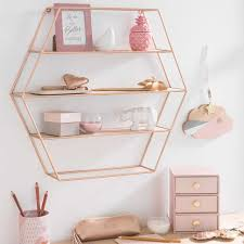 Sechseckiges Regal Aus Metall H 45 Best Blush Breakfast Pink Gold BedroomPink