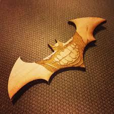 Batman Bat Symbol Pumpkin Pattern by Batman Joker Bat Symbol Laser Cut Wood Etched My Stuff