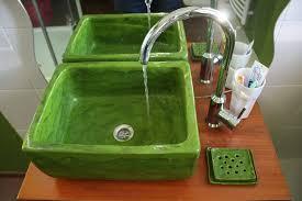 badezimmer idee galerie handwerk waschbecken handbemalte