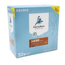 Caribou Coffee Blend Medium Roast K Cups 32
