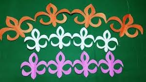 Paper BorderHow To Make Cutting Border Design Step By StepEasy Crafts