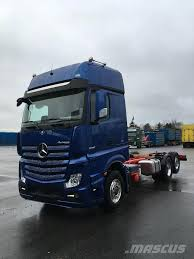 100 Mercedes Box Truck Used Benz Actros2551 Box Trucks Year 2017 For Sale