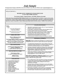 Executive Summary Example Resume Senior Level Communications 01 Resumes 8