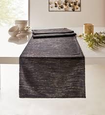 tischläufer edel look textil deko wohnzimmer esszimmer terasse garten balkon outlet trends