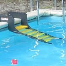 Above Ground Pool Ladder Deck Attachment by Doggie Steps By Waterdog Adventure Gear