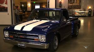 Revealing The '67 Chevy C10 | Overhaulin' 1967 Chevy C10 Step Side Short Bed Pick Up Truck Pickup Truck Taken At The Retro Speed Shops 4t Flickr Harry W Lmc Life K20 4x4 Ousci Competitor Chris Smiths Custom Cab Rebuilt A 67 With 405hp Zz6 To Celebrate 100 Years Of Chevrolet Pressroom United States Images 6500 Shop Stepside Torq Thrust Iis Over The Top Customs Racing