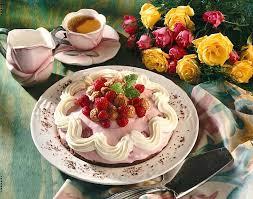 schokoladen himbeer creme torte