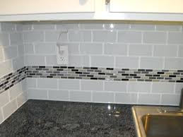 Grey Tiles With Grey Grout by Decorative Backsplash Tile Light Grey Subway White Grout With