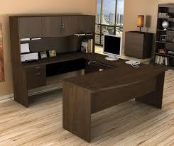 Bush Desk Series C by Realspace Broadstreet Contoured U Shaped Desk With Hutch Best