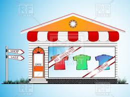 Clothes Shop Window 10507 Download Royalty Free Vector Image