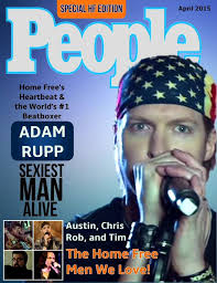 Adam Rupp People Magazine cover done by Crinkles Crew