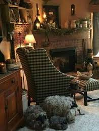 Primitive Living Room Furniture by Pin By Greta On Farmhouse Decor Pinterest Colonial Country