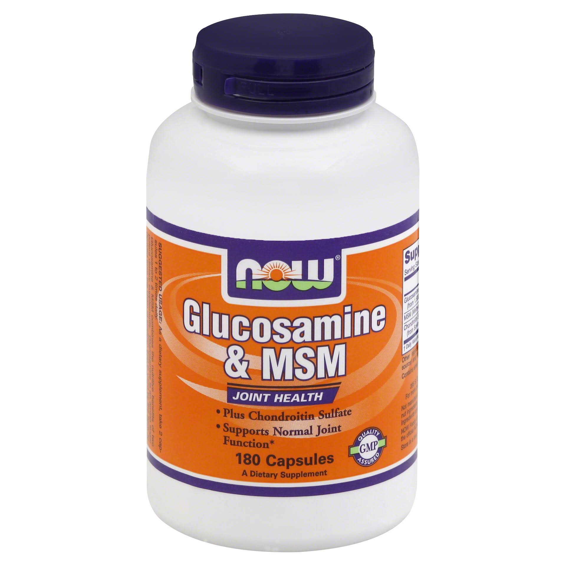 Now Foods Glucosamine & Msm Dietary Supplement