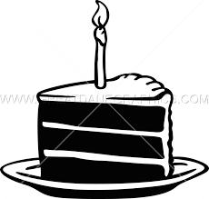 Birthday Cake Slice