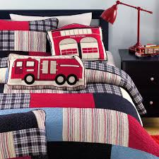 100 Fire Truck Bedding Amazoncom Cozy Line Plaid Quilt Sets Patchwork Bedspread Cotton