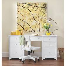 Home Decorators Home Depot Cabinets by Home Decorators Collection Oxford White Desk 0151200410 The Home