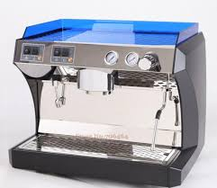 New Single 2 Group Semi Automatic Commercial Daul Thermo Block Espresso Coffee Machine 15 Bar Cappuccino Maker In Makers From Home Appliances On