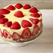 dessert aux fraises recette gâteau d anniversaire aux fraises