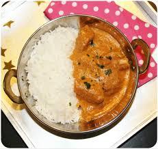cuisine indienne poulet butter chicken poulet makhani kitchen