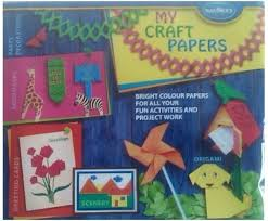 Navneet Eco Friendly Unruled A4 Craft Paper