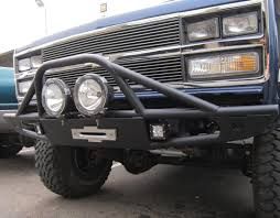 FRONT WINCH BUMPER FITS CHEVY/GMC K5 BLAZER & TRUCKS 1973-1991 ...
