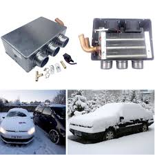 100 Truck Heater 3 Outlet 12V 80W SUV Car Defroster Heating Cooling